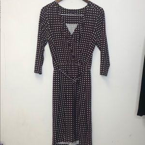 Ann Taylor Dress 3/4 Sleeve Size Small